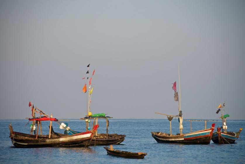 Burma, Ngapali, Paradisstränder