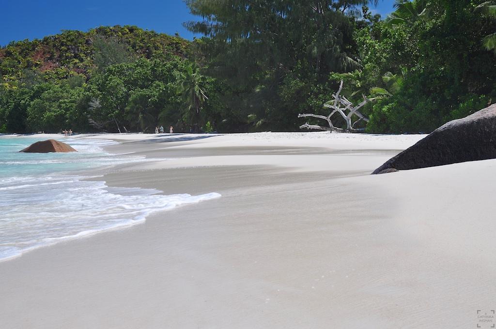 Seychellerna, Anse Lazlo, Praslin, paradisstränder