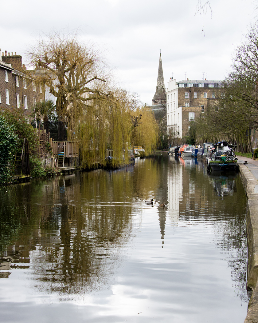 Regent's Canal, London, Citybreak, weekendresor
