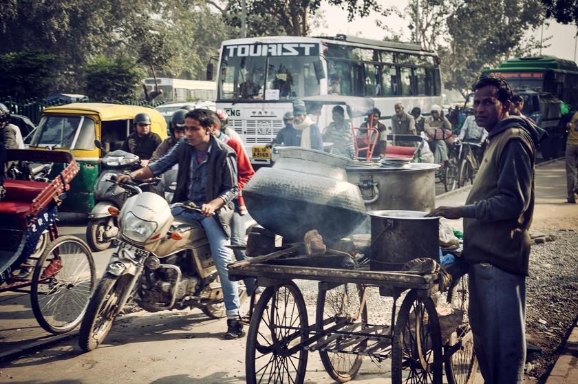 Från Dehli till Taj Mahal
