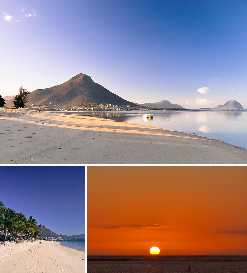 Mauritius stränder, Flic en Flac