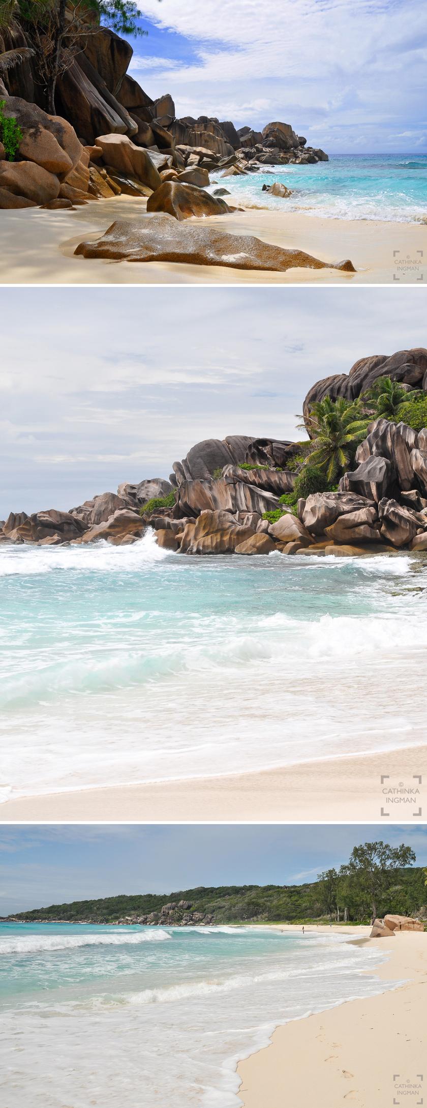 Seychellerna Anse Lazio, Cote d Or, Grand Anse, Petite Anse , Anse Source d Argent
