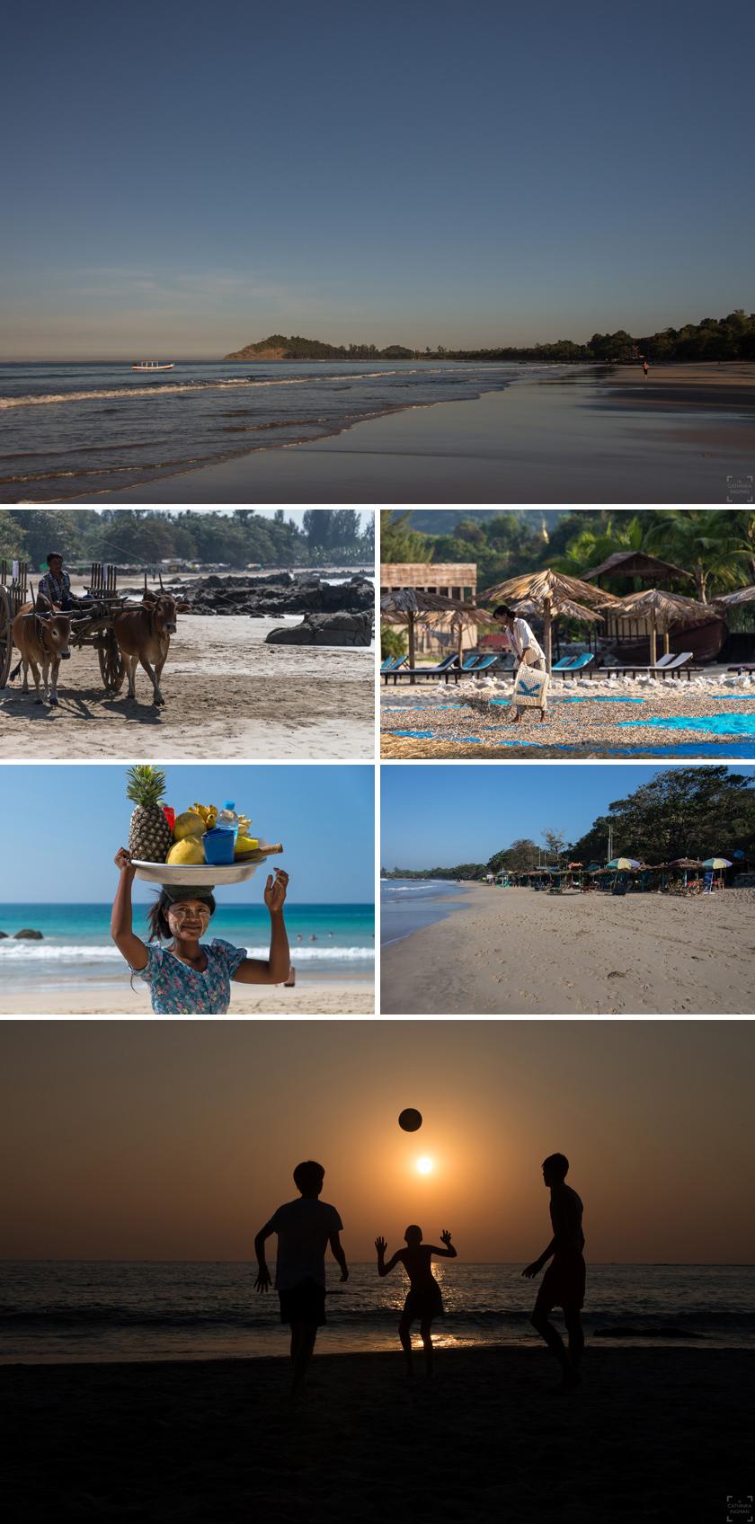 Burma resa, Ngapali Beach