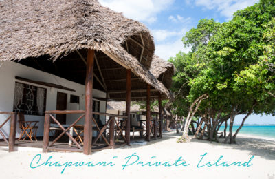 Resa till Zanzibar, Chapwani Private Island