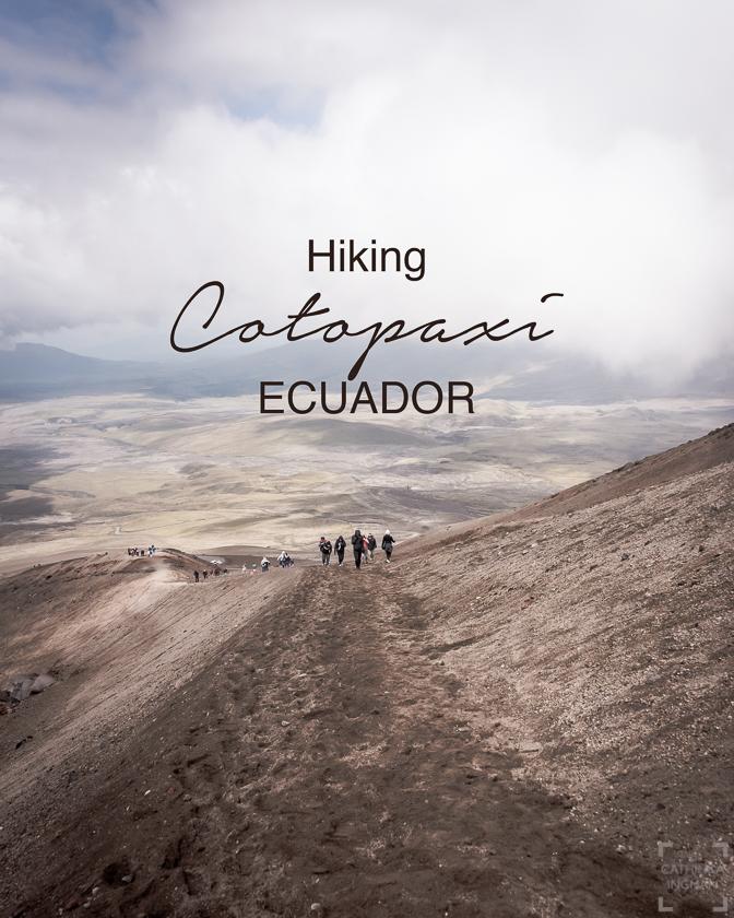 Vanding på Cotopaxi, hiking Cotopaxi