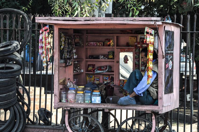 Jaipur den rosa staden, gatuliv