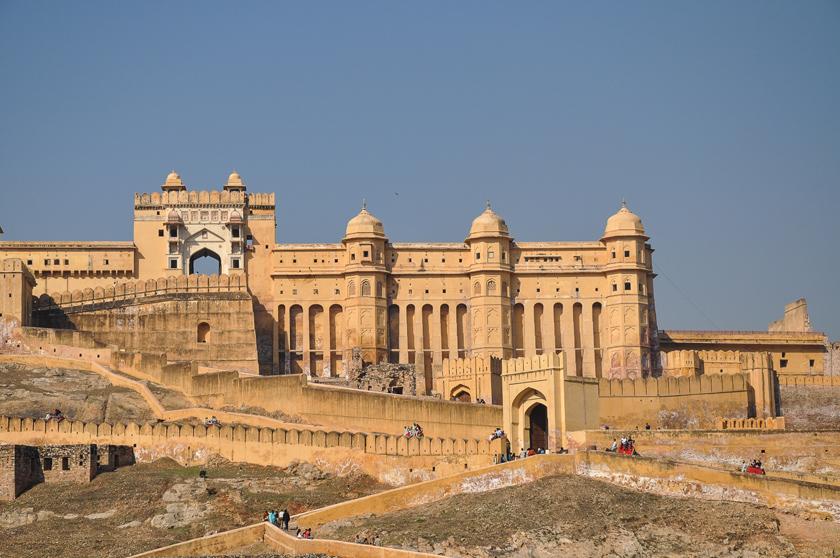 Jaipur, den rosa staden, Amber Fort