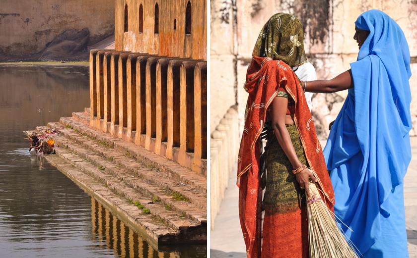 Jaipur den rosa staden, Amber Fort