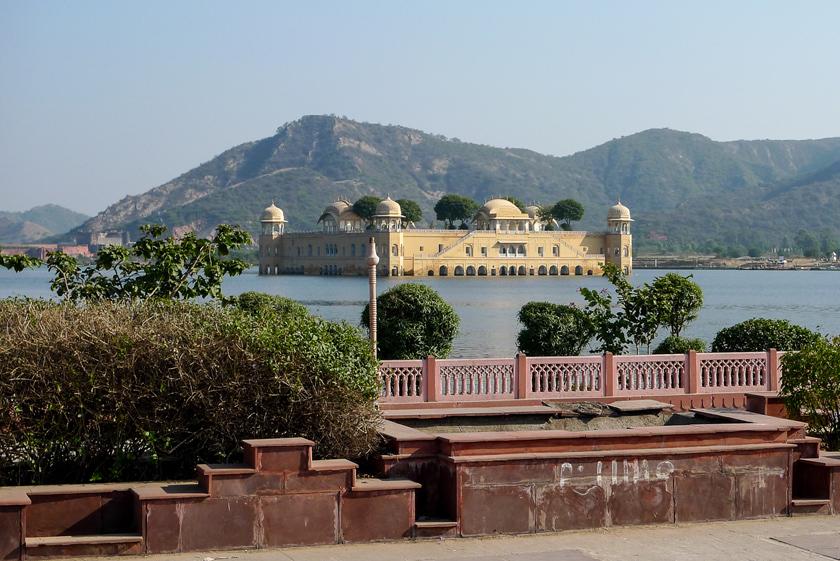 Jaipur, den rosa staden, Jal Mahal