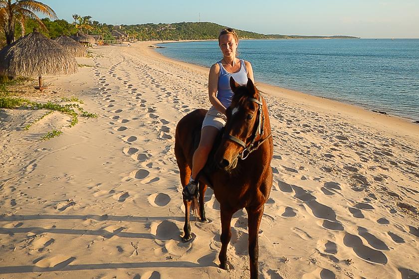 Bazaruto, Anatara, Horse riding