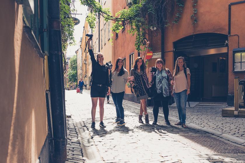 Fotopromenad genom Stockholm