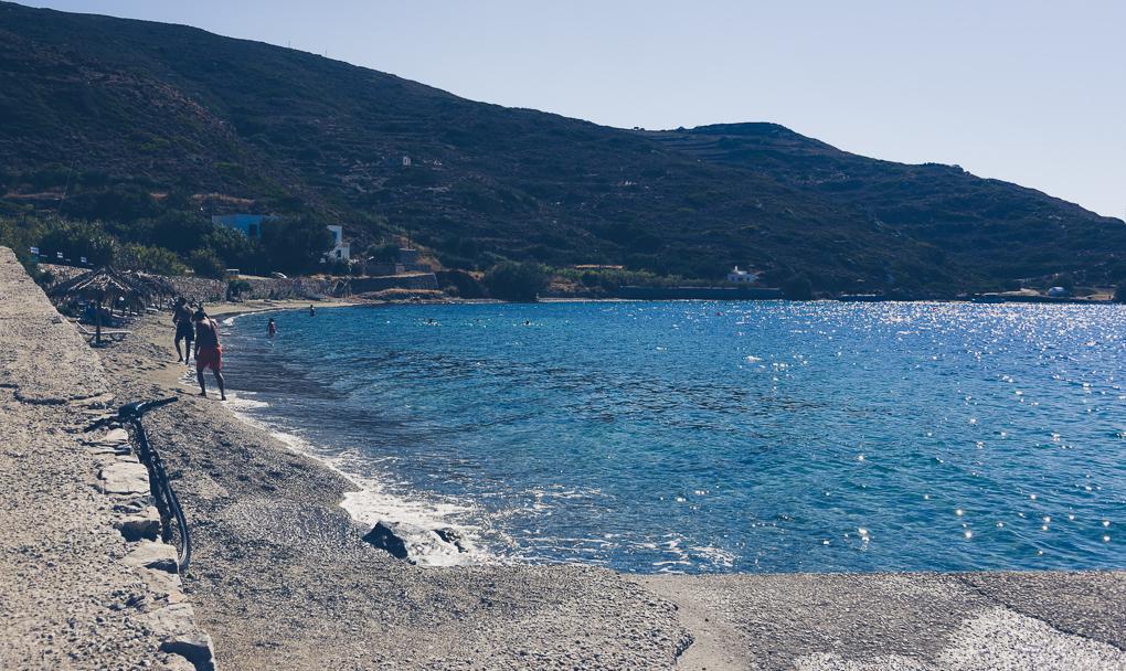 Amorgos stränder, beaches amorous, kykladerna, grekland