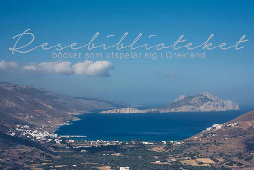 resebibliotek böcker som utspelar sig i grekland