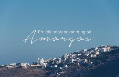 Vandring på Amorgos, Aegali, Kykladerna