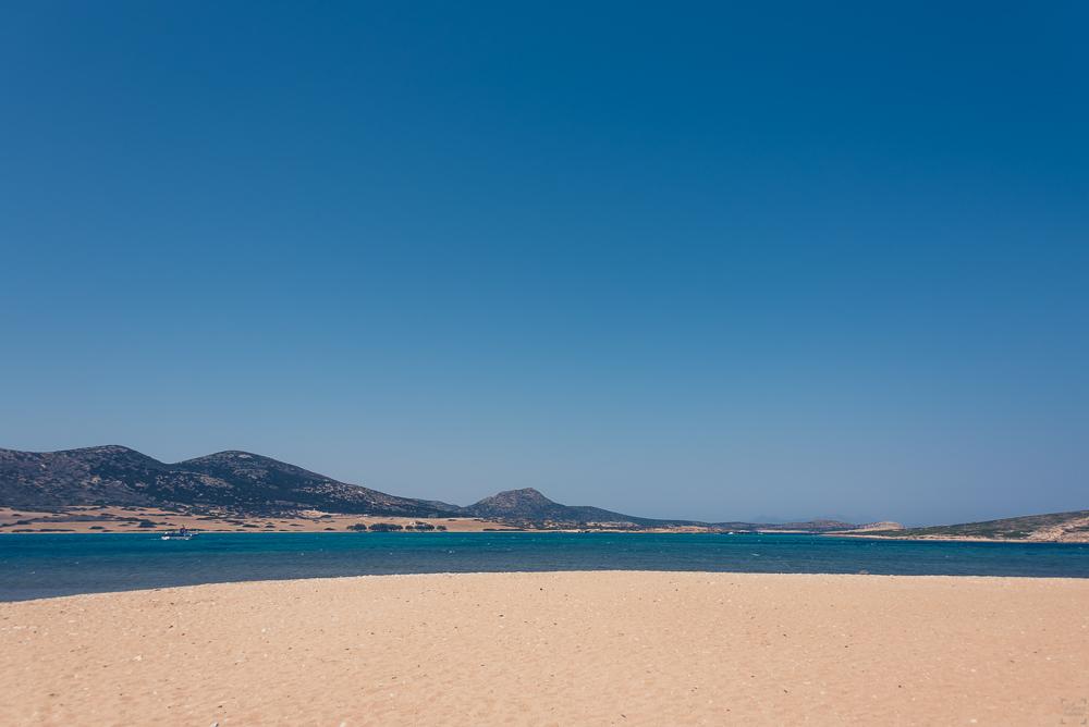 Antiparos, båtluffa i Grekland, Kykladerna