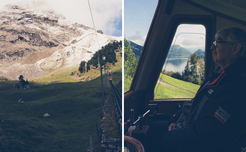 Pilatus, weekend i Luzern, Pilatus Railway