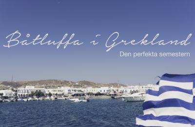 Båtluffa i Grekland, Amorgos, Iraklia, Antiparos, Kykladerna