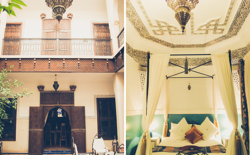 Marrakech tips, Riad le close des arts