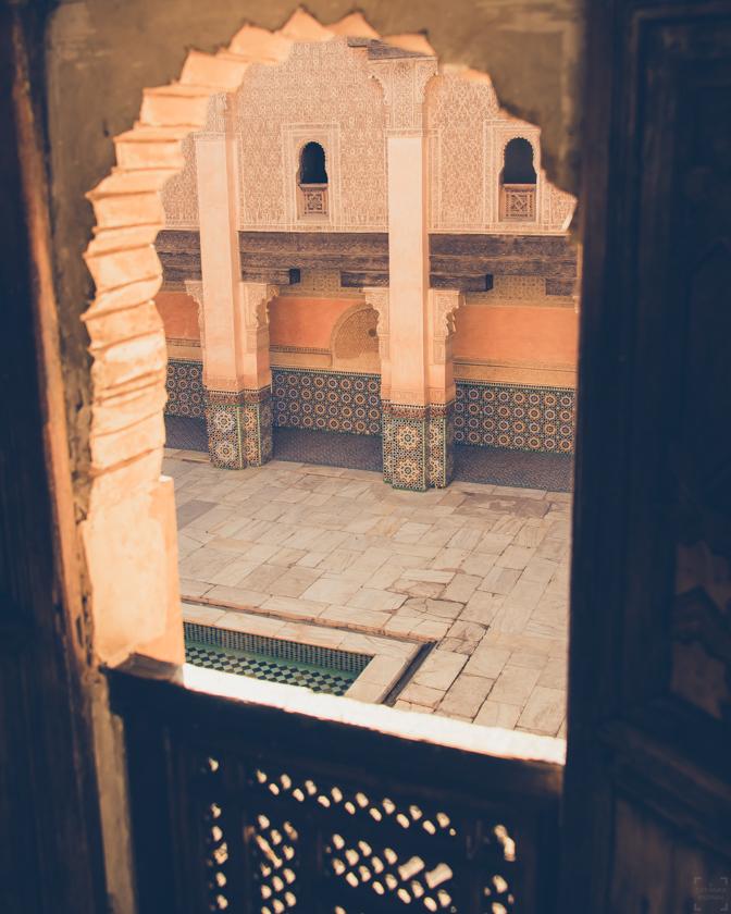 Marrakech tips, Ali Ben Youssef Medersa