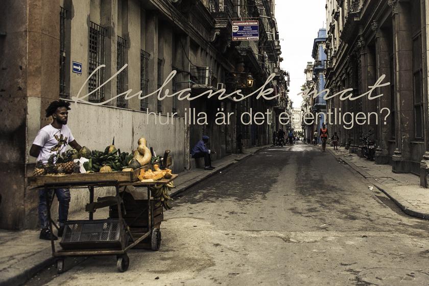 Reseblogg,Kubansk mat, kubas matscen, havanna, trinidad