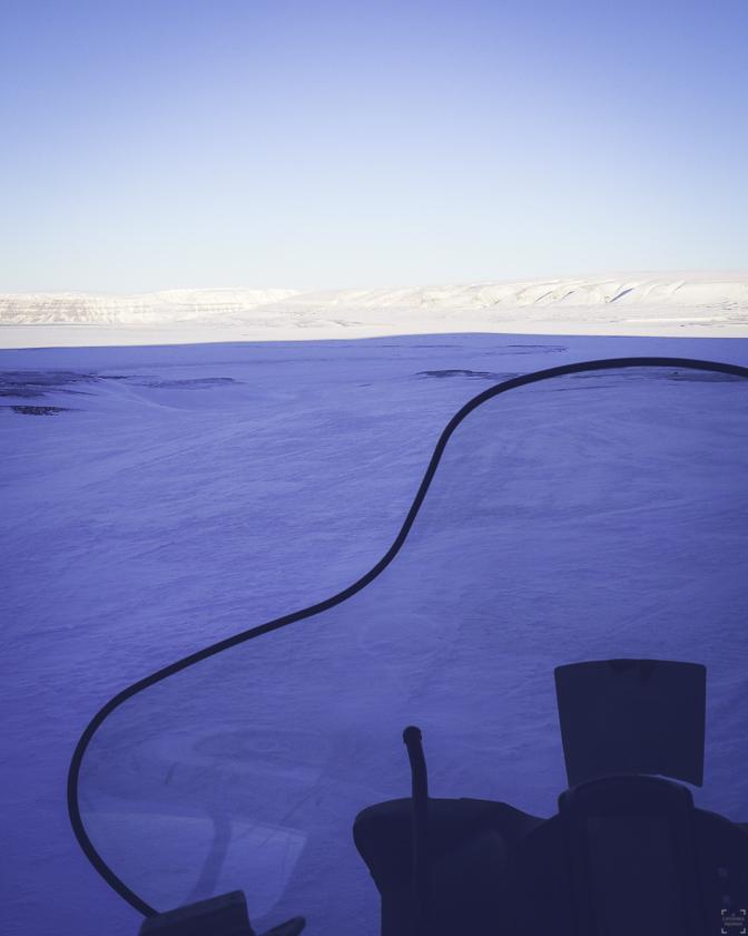 Skoter på Svalbard