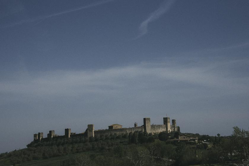 Via Francigena etapp 33 Monteriggioni siena