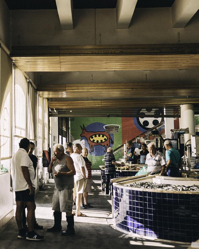 Lagos fiskmarknad, reseblogg, algarve, Mercado Municipal da Avenida de Lagos