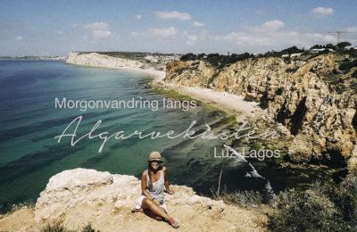 Vandring längs Algarvekusten, reseblogg, Portugal