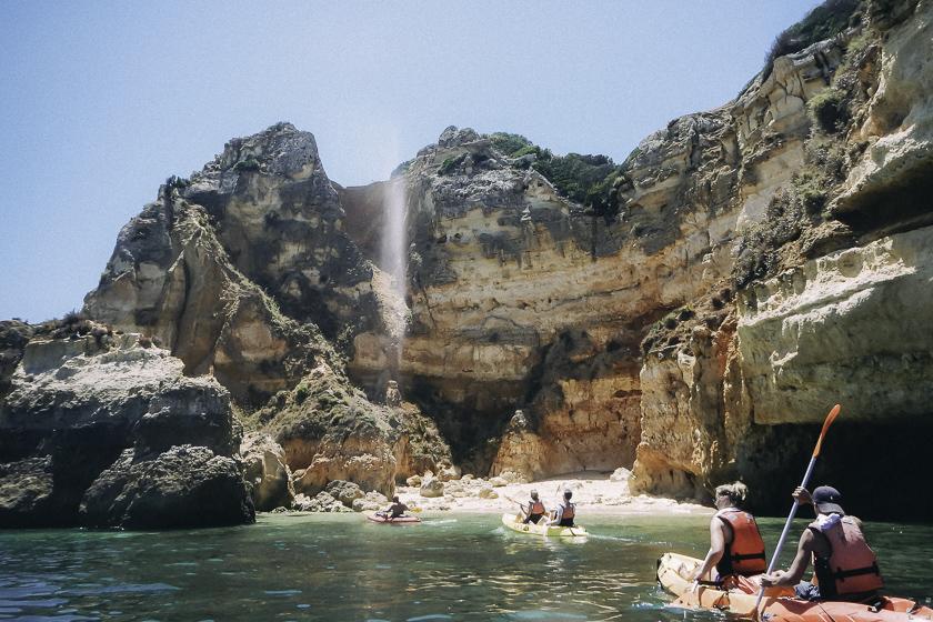 Ponta da Piedade, reseblogg, lagos, portugal