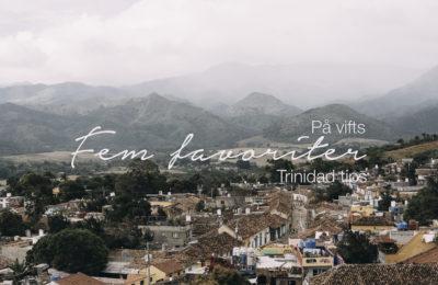 Trinidad tips, reseblogg
