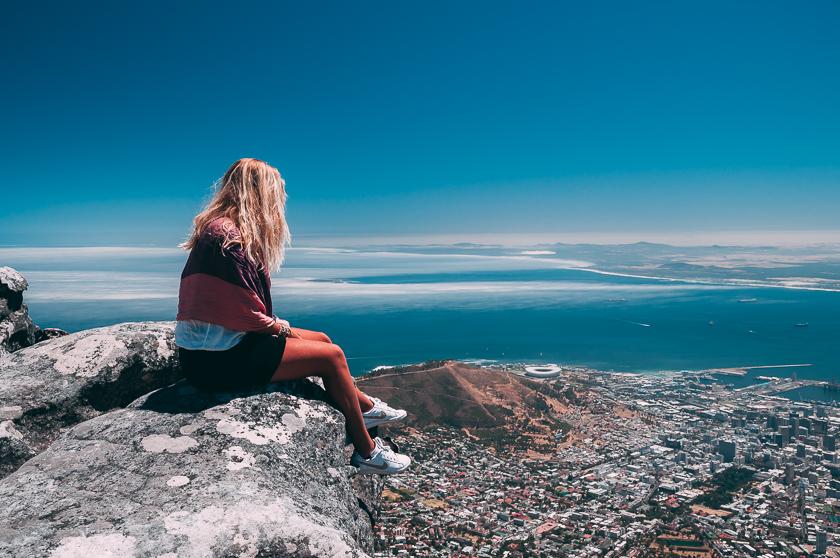 resa till sydafrika, Kapstaden, Table Mountain