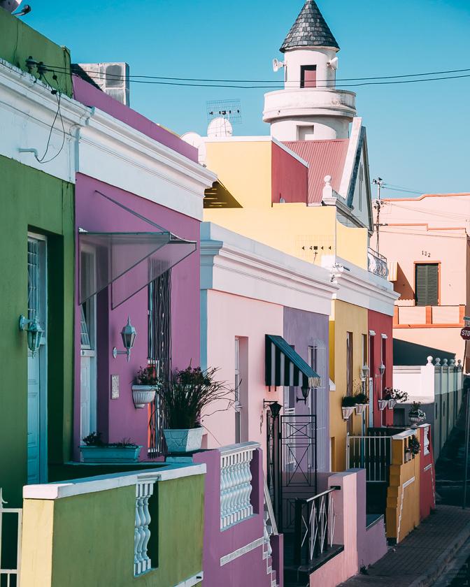 resa till sydafrika, Kapstaden, Bo Kaap