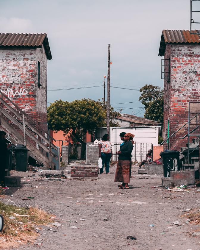 resa till sydafrika, Kapstaden, Langa Township