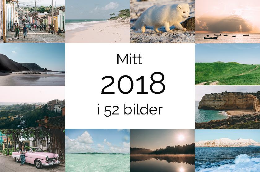 Mitt 2018 i 52 bilder