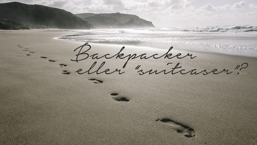 Backpacker eller suitcaser
