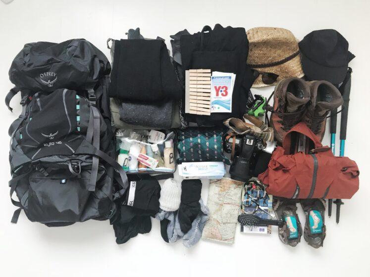 Packning Via Francigena
