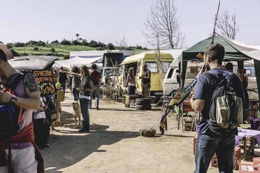 Hippiemarknad i Bara de sao joao