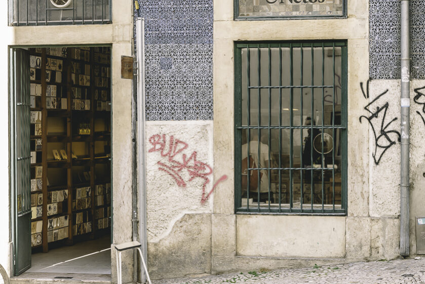 Lissabon kakel vandring