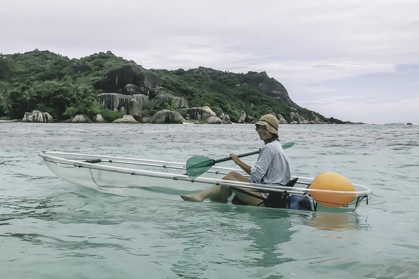 La Digue Seychellerna
