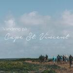 Vandring längs Algarvekusten, Cape St Vincent, Reseblogg