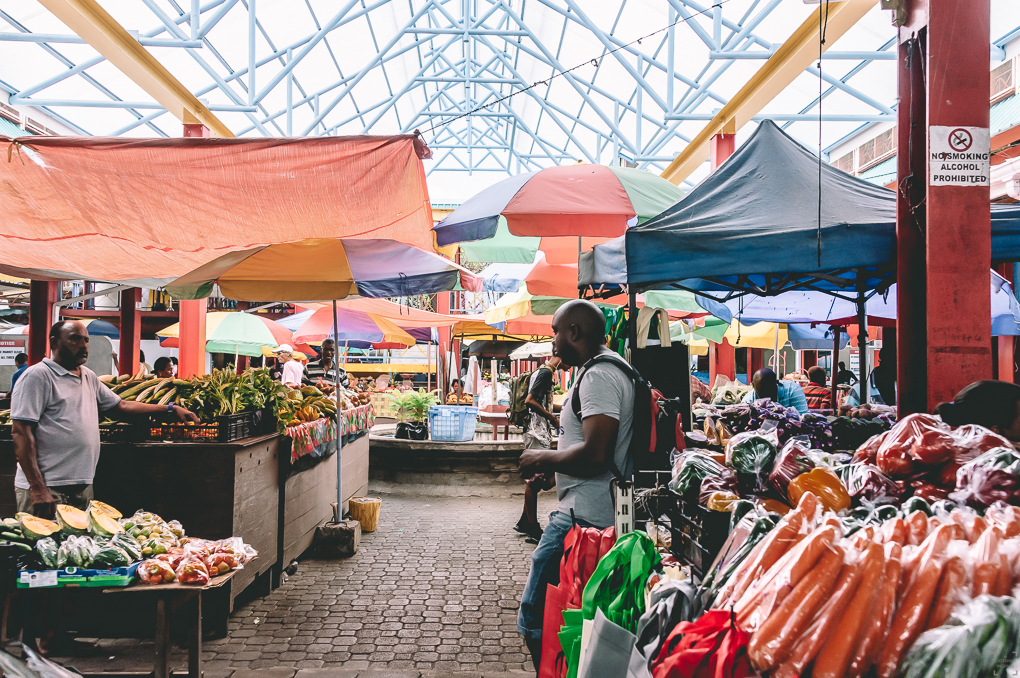 Resa till Seychellerna, Sir Selwyn Clarke Market