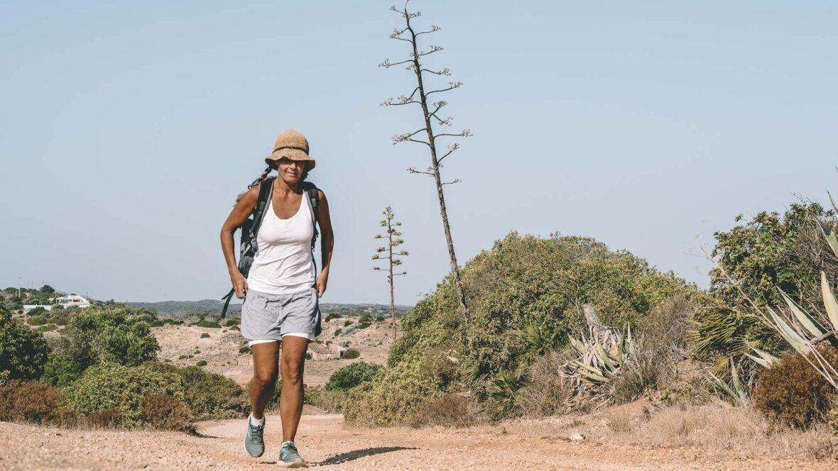 Vandring Algarvekusten, Montinhos-Burgau-Montinhos