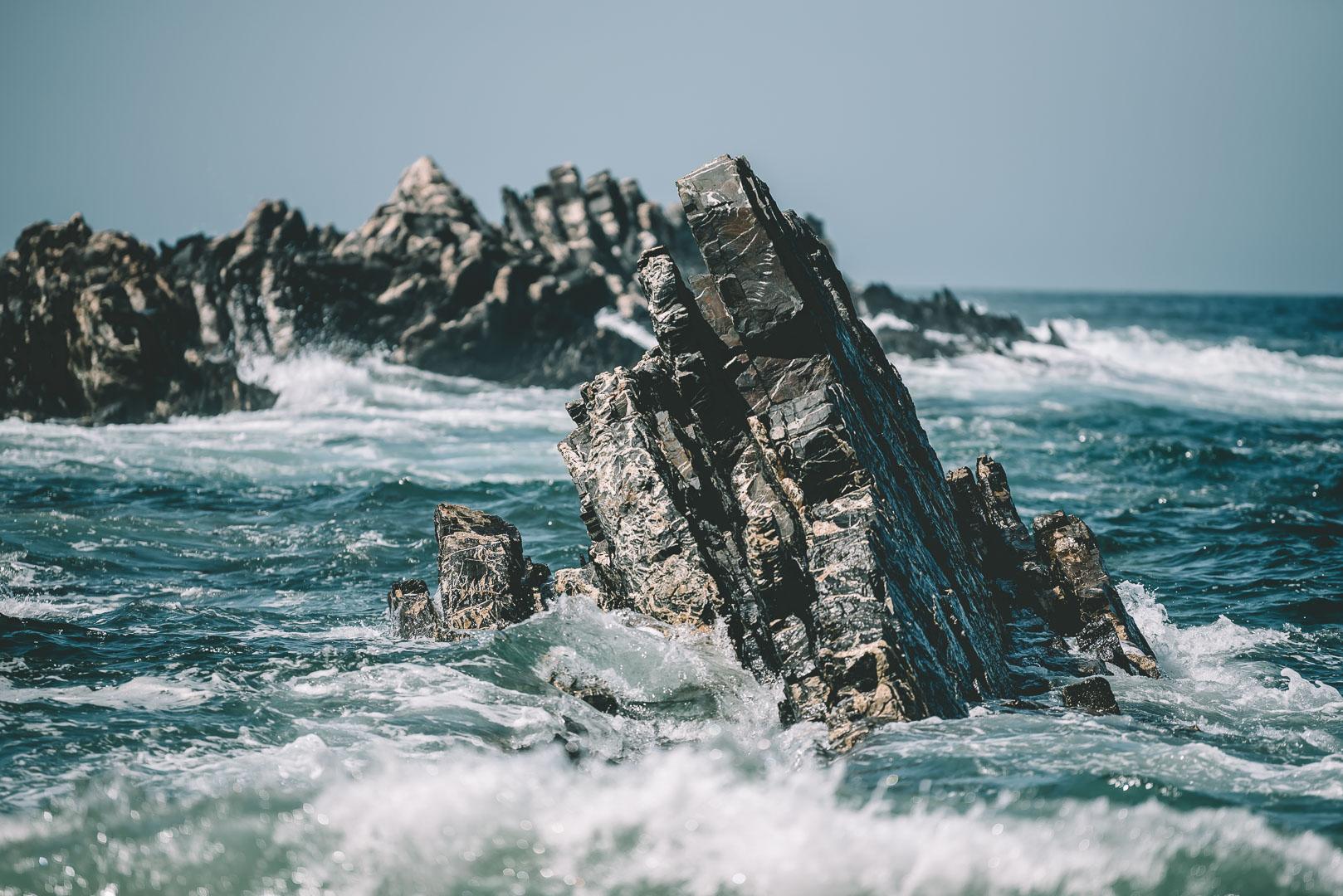 Fotoställen Atlantkusten, Praia do Caraleiro