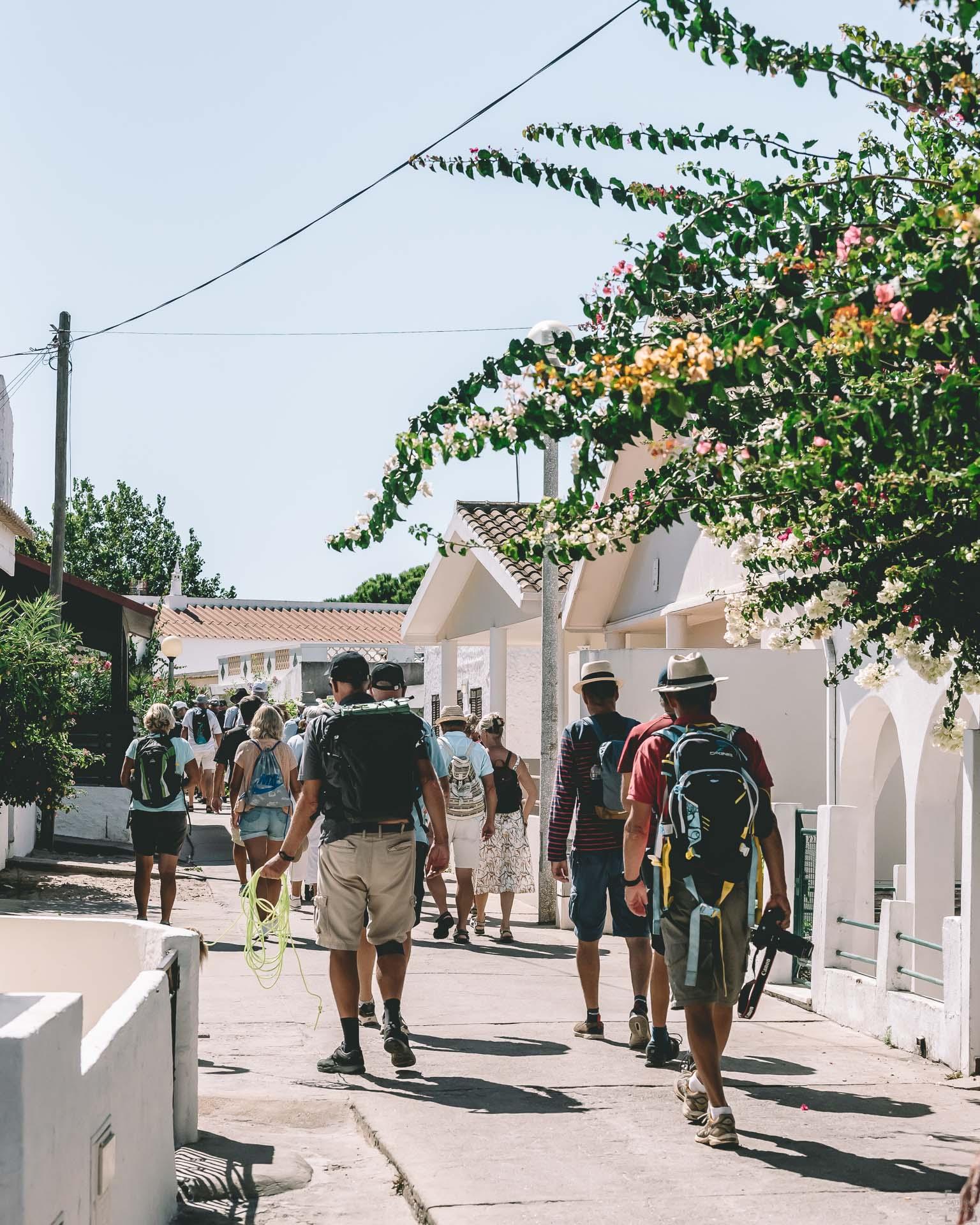 ilha da Armona, vandring algarvekusten