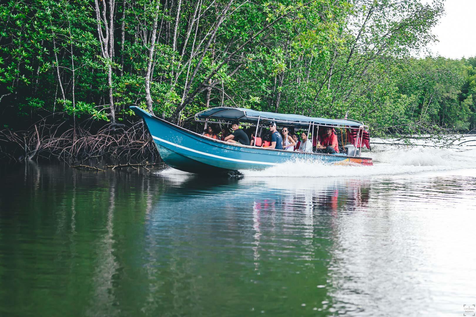Båttur i Kilim Geoforest park