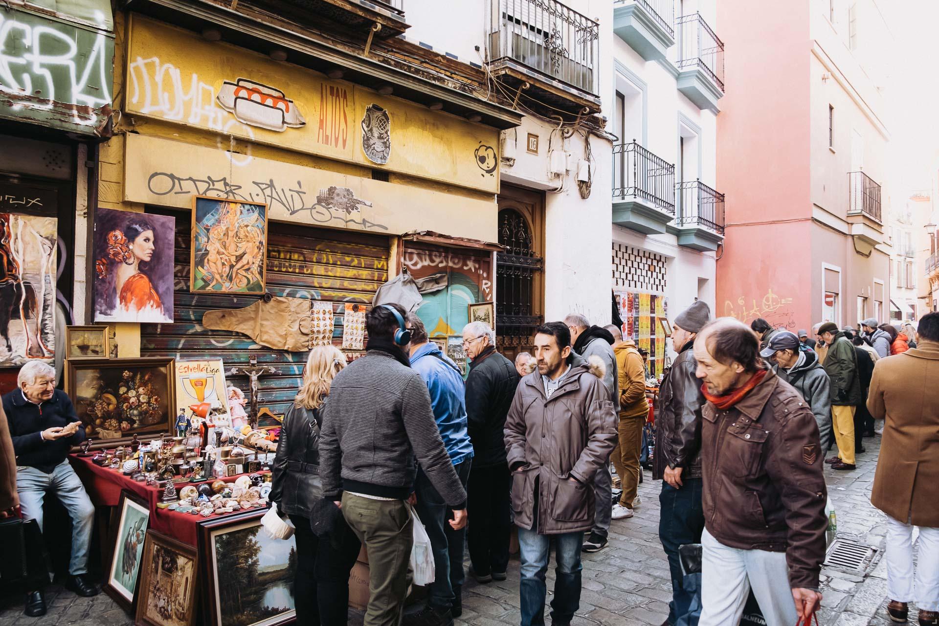 Marknader i Sevilla