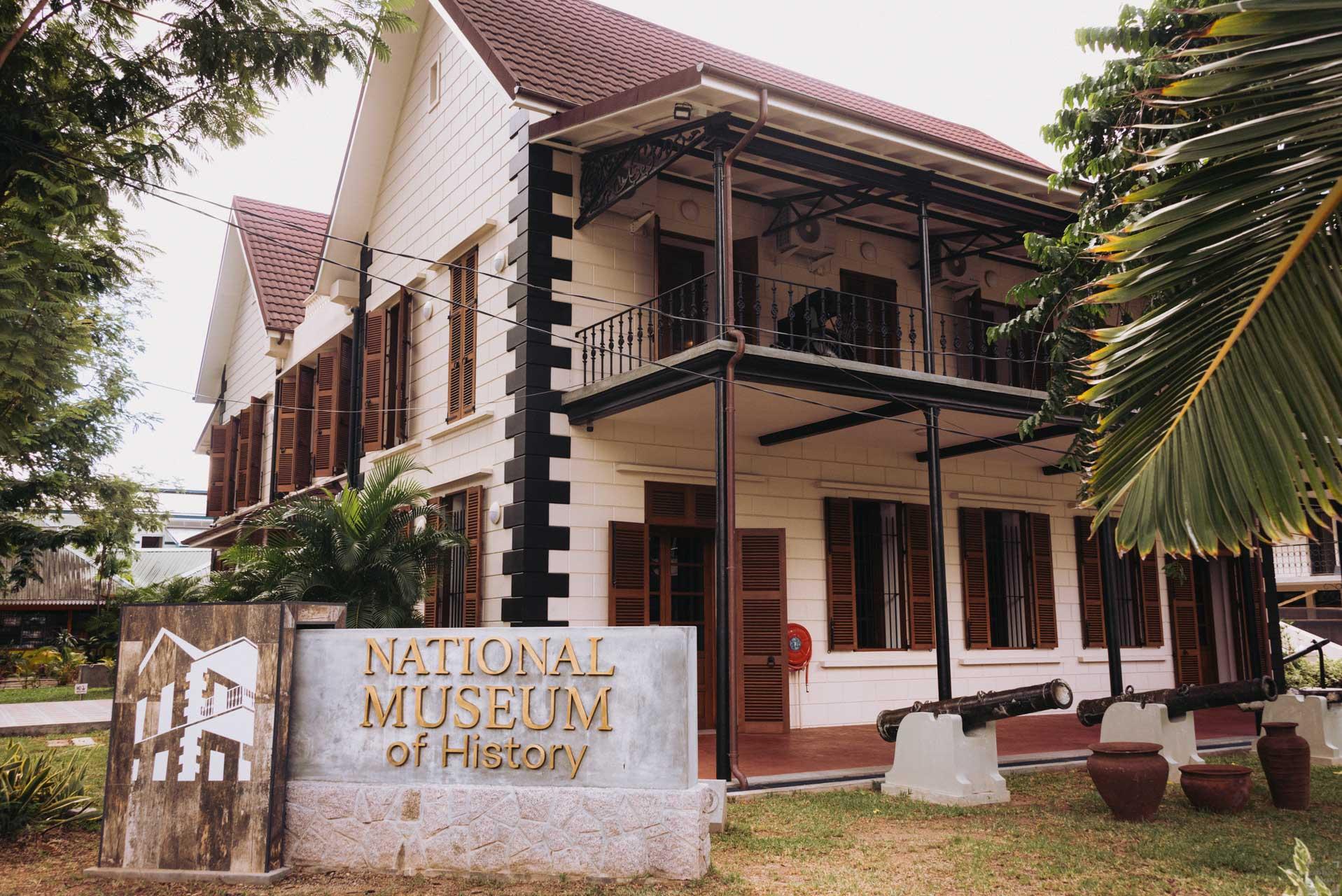 Världens minsta huvudstad, Victoria, National History Museum
