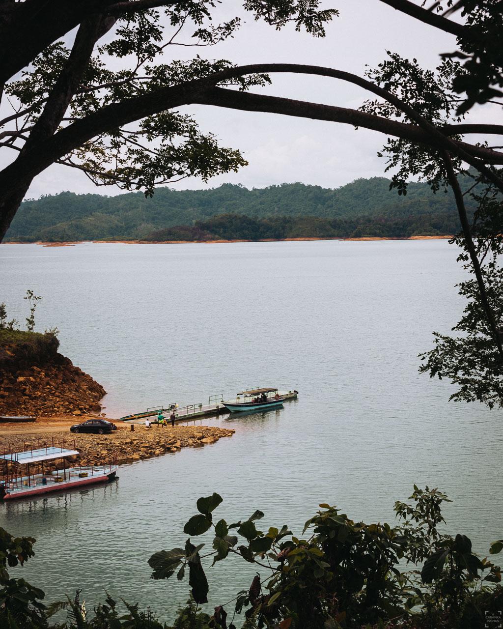 Batang Ai jetty