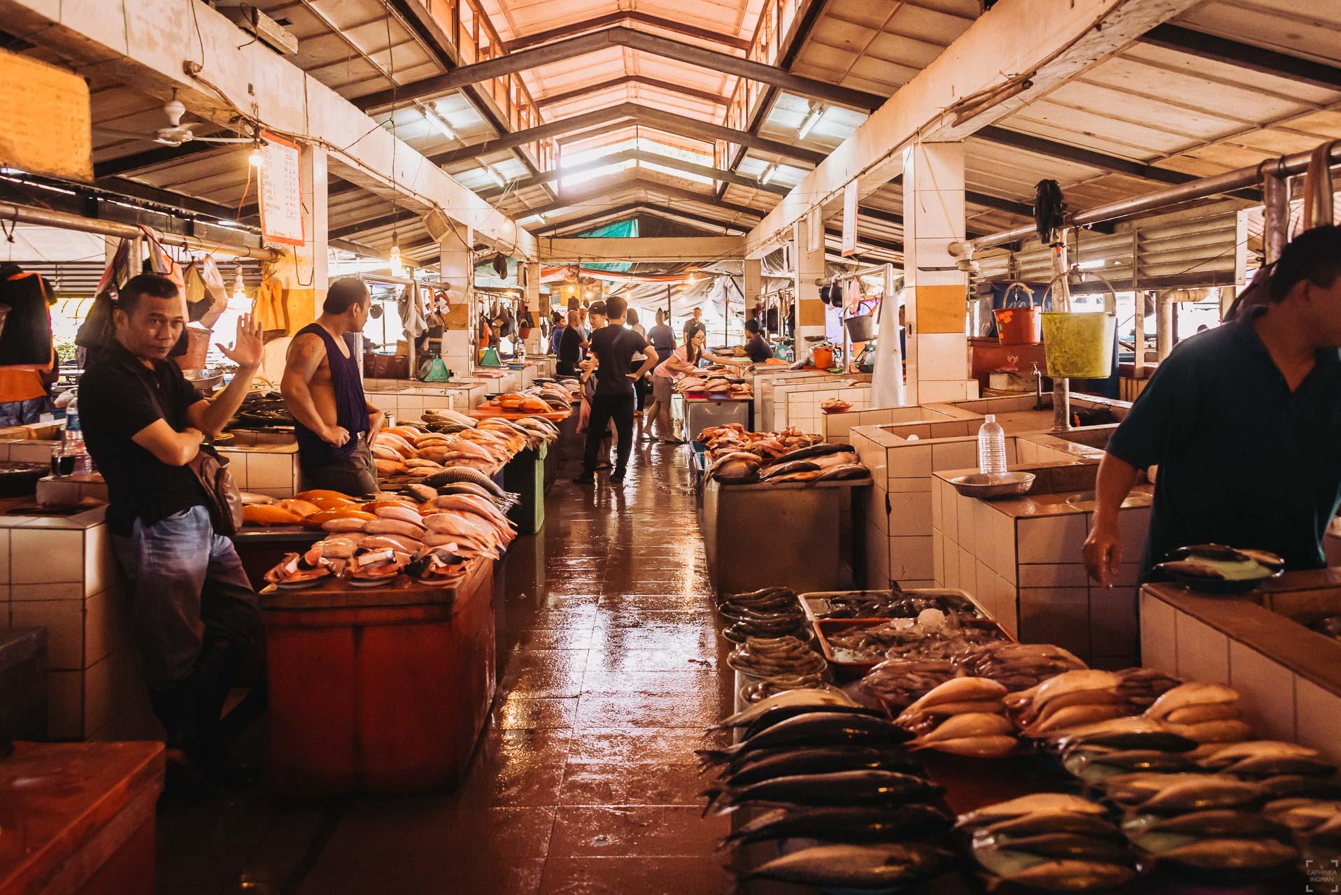 Marknaden i Serian