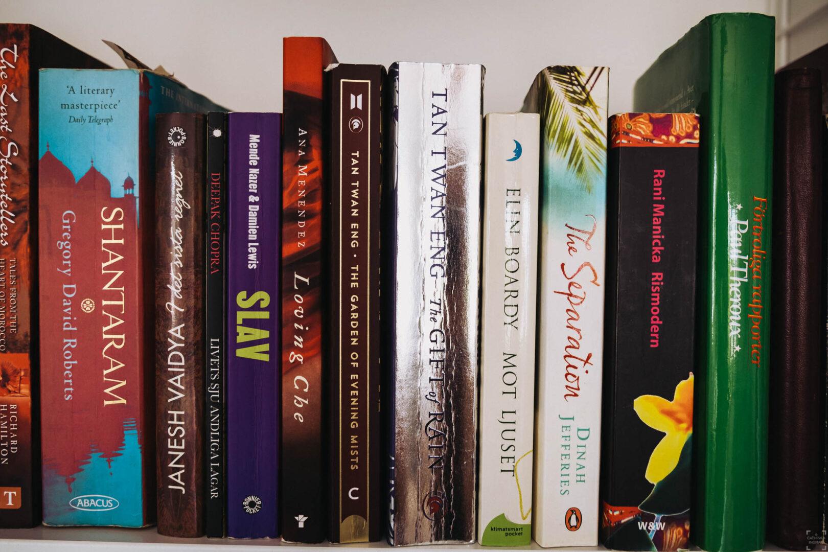 Resebibliotek Malaysia - Böcker som utspelar sig i Malaysia